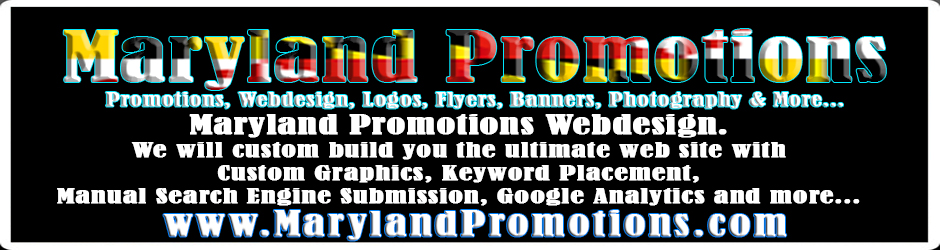"""Maryland Promotions Webdesign"""